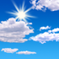 Today: A slight chance of showers and thunderstorms after noon.  Mostly sunny, with a high near 84. Light west wind increasing to 6 to 11 mph in the morning.  Chance of precipitation is 20%.